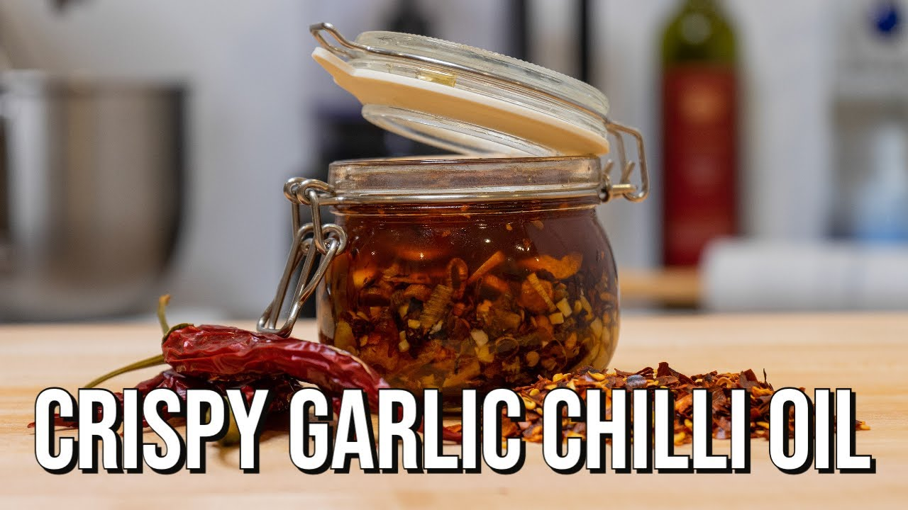 Crispy Garlic Chilli Oil | How To Make Recipe