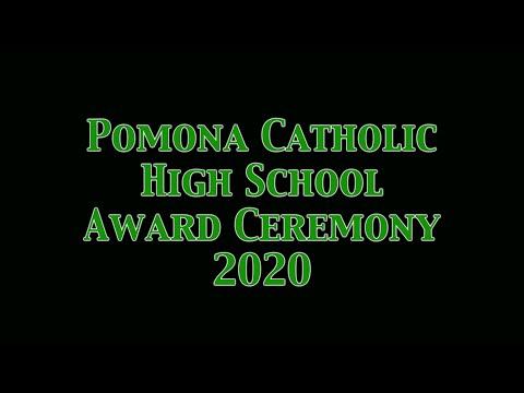Pomona Catholic High School Award Ceremony 2020