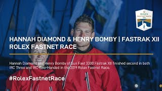 Hannah Diamond and Henry Bomby | Fastrak XII | 2nd Place IRC 3