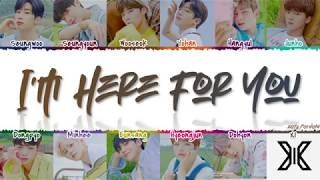 Gambar cover X1 (엑스원) - 'I'm Here For You' (괜찮아요) Lyrics [Color Coded_Han_Rom_Eng]