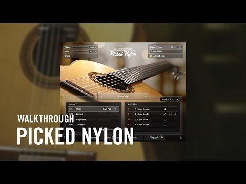 SESSION GUITARIST — PICKED NYLON Walkthrough | Native Instruments