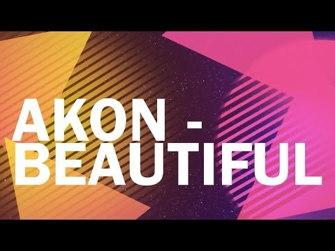 Akon - Beautiful (Lyric Video)