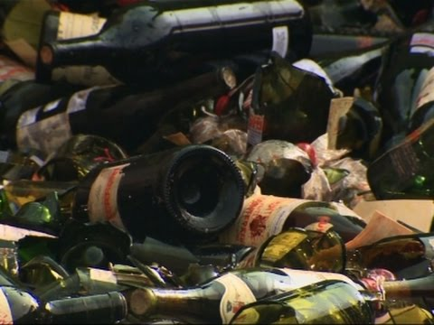 Hundreds of Counterfeit Wine Bottles Destroyed