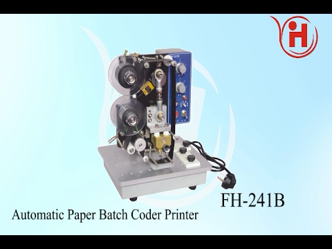 Date Coding Machine,Color Ribbon Printer,Hot Stamping English letter Coder