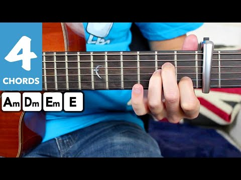 James Brown  Its A Mans Mans World Guitar Tutorial  EASY 4 Chord Song