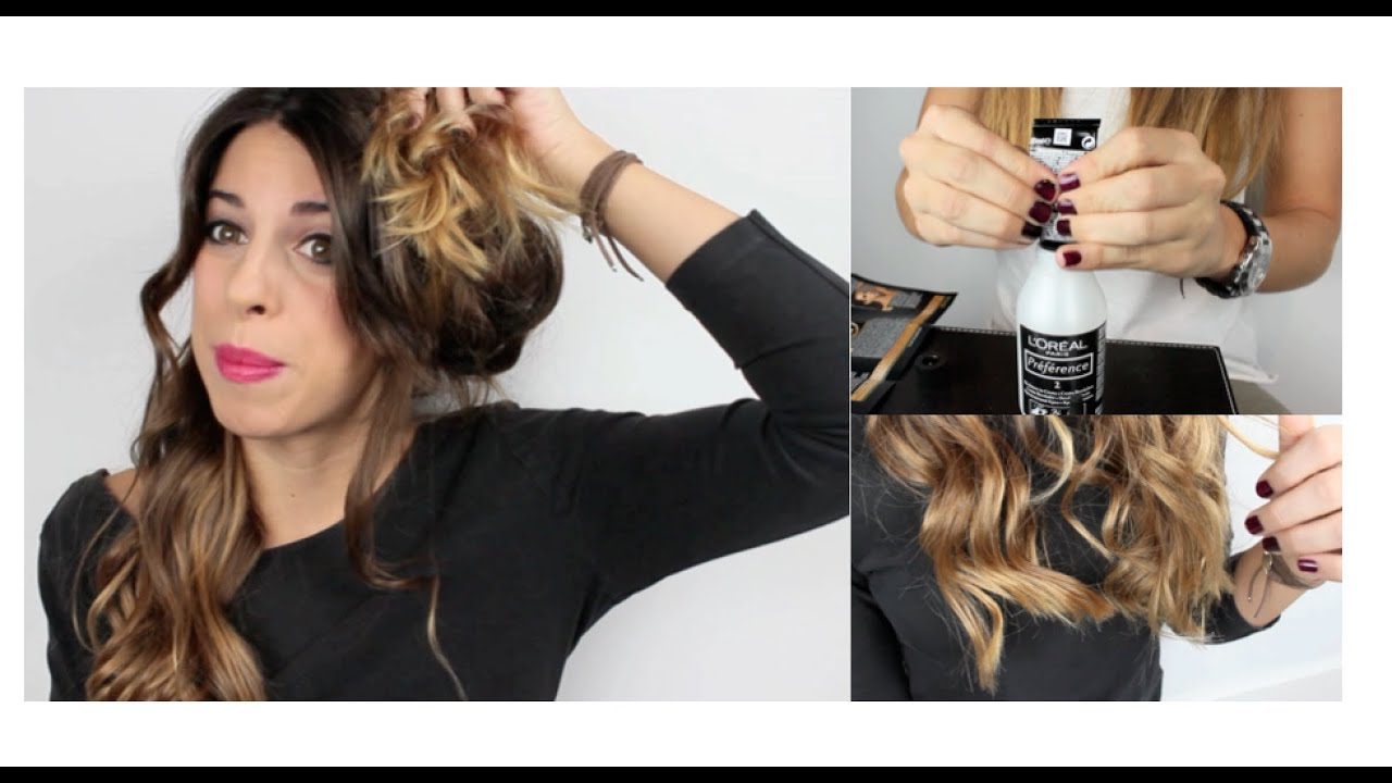 Mechas californianas en casa paso a paso youtube - Como hacer mechas californianas en casa ...