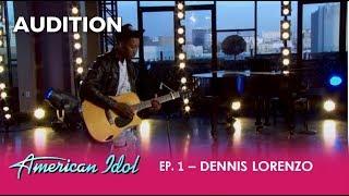Dennis Lorenzo: A Homeless Kid With a Broken Guitar Has a DREAM! | American Idol 2018