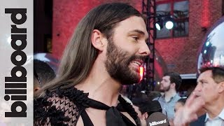 Jonathan Van Ness on Working With Taylor Swift & Favorite Songs on 'Lover' | MTV VMAs