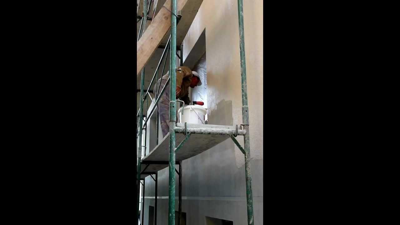 Tencuiala Decorativa Baumit Pret.Manopera Aplicare Tencuiala Decorativa Baumit 2012 Youtube