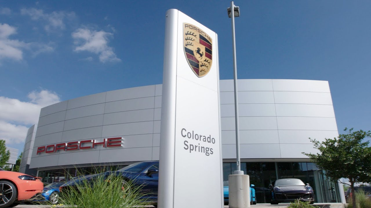 Car Dealerships Colorado Springs >> Porsche Colorado Springs