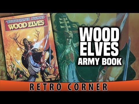 BoLS Retro Corner Review | Wood Elves Army Book   4th Edition | Warhammer Fantasy
