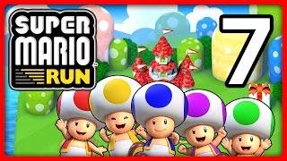 SUPER MARIO RUN Part 7: Wir bauen ein Königreich und spielen Toad-Rallye bis zum Umfallen!