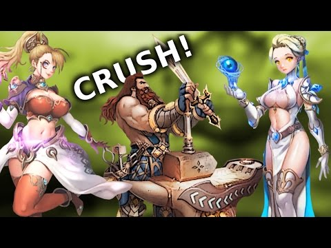 Crush Online - Classes, Skills, Wars, General Info About The Game