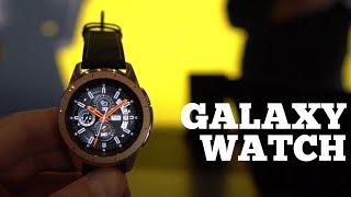 Первый обзор Galaxy Watch - 80 часов от батареи