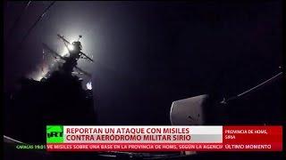 El sistema de defensa antiaérea de Siria repele un ataque con misiles en la provincia de Homs