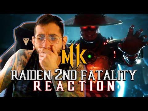 Mortal Kombat 11: Raiden 2nd Fatality (REACTION!) thumbnail