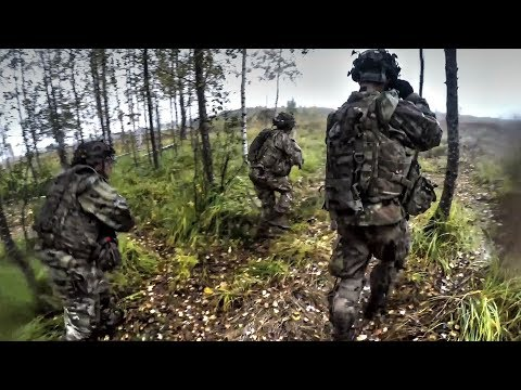 US Army Airborne Infantry Troops Showcase Their Fighting Capabilities In Latvia