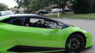 Surprising an 11 year old with a Lamborghini for his birthday.