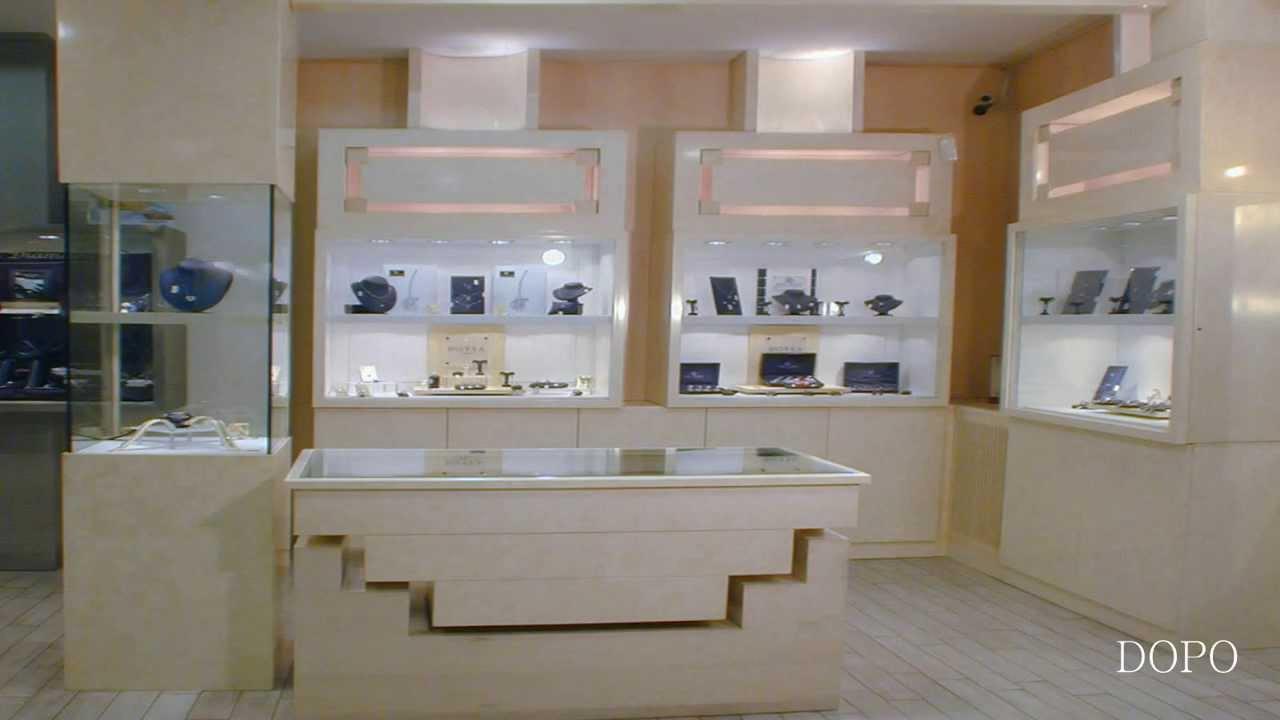 Arredamento gioielleria ekip arredamenti per negozi roma for Negozi design