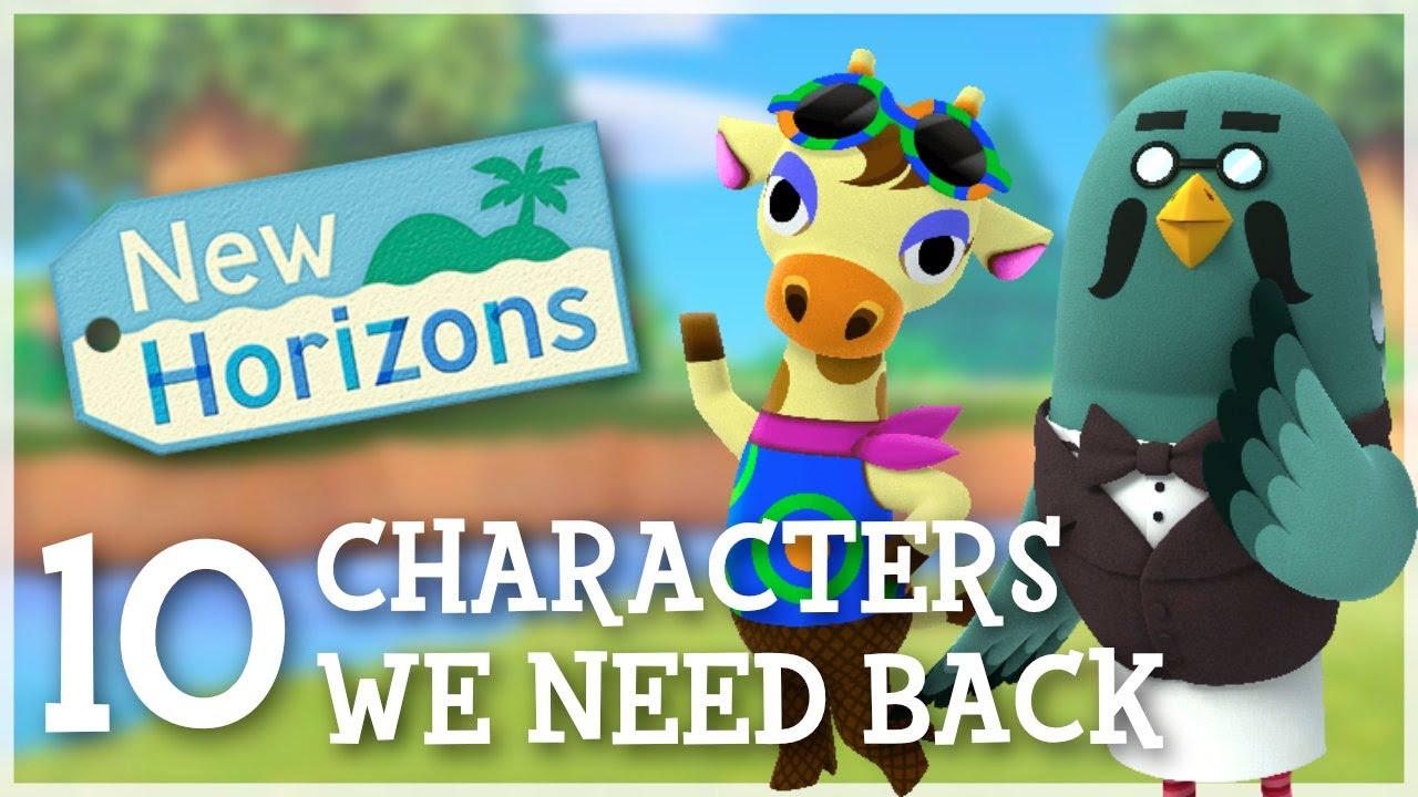 Animal Crossing New Horizons - 10 Characters We NEED Back!