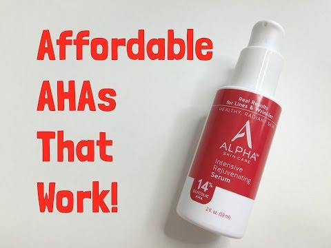 Skin Care Challenge Day 4: Alpha Hydroxy 14% Glycolic AHA- This Stuff Is Amazing!