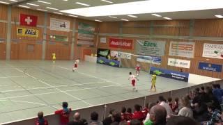 TuS Traunreut U12 Hallenmasters 2015 Spiel 26: Red Bull Salzburg-TSG 1899 Hoffenheim 1:0