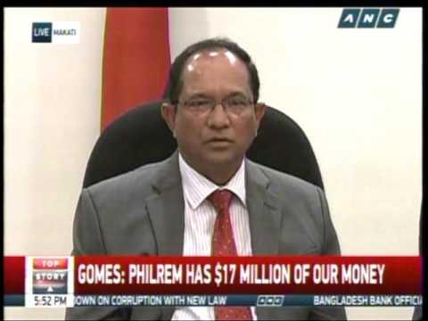 Bangladesh presses Duterte on return of stolen millions