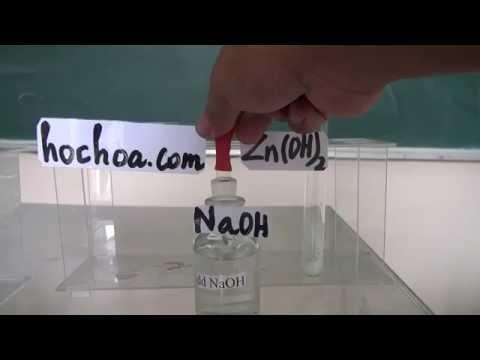 Thí nghiệm; ddNaOH   + Zn(OH)2 - VQLHP