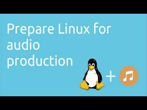 Prepare Linux for audio production   Tutorials