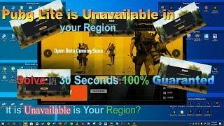 PUBG Lite | It is unavailable in your Region | 1000% working | MobyCor | Urdu/Hindi