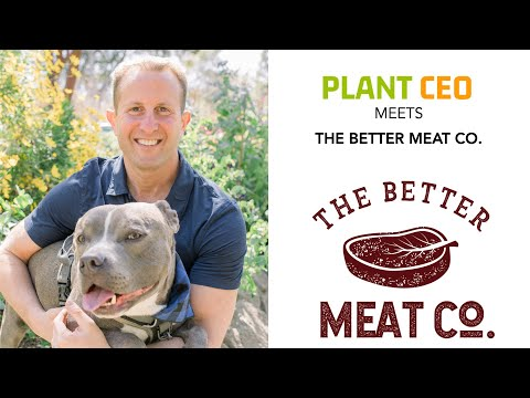 PLANT CEO #61 - Mycoprotein Fermentation : The Better Meat Co. with Paul Shapiro