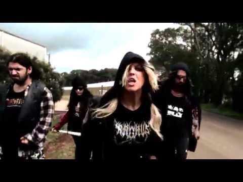 """""""Fat Pizza"""" VS Housos Movie Anthem - HEAVEN THE AXE [Official Music Video}"""