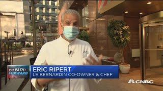 '25% capacity is not sustainable': Restauranteur Eric Ripert of Le Bernardin on reopening