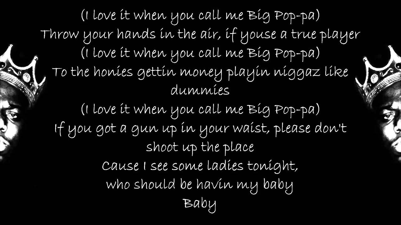 The Notorious BIG - Big Poppa (Lyrics) HD - YouTube