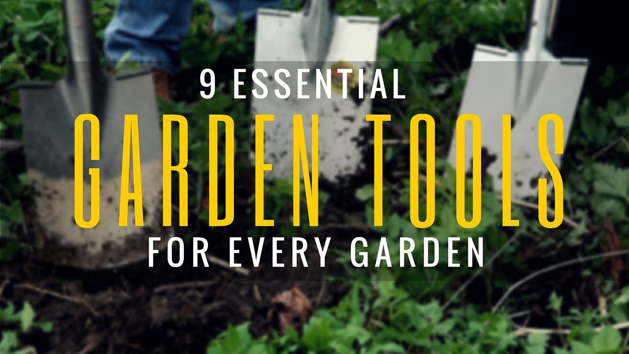 9 must have garden tools and equipments essential for Gardening tools must have