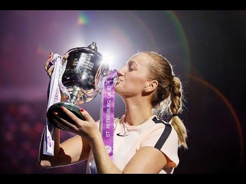 Petra Kvitova Championship Road of St.Petersburg Ladies Trophy