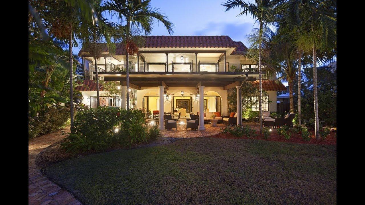Elegant Charm Luxury Home | Real Estate | 2035 Northeast 31st Avenue, Fort  Lauderdale, Florida