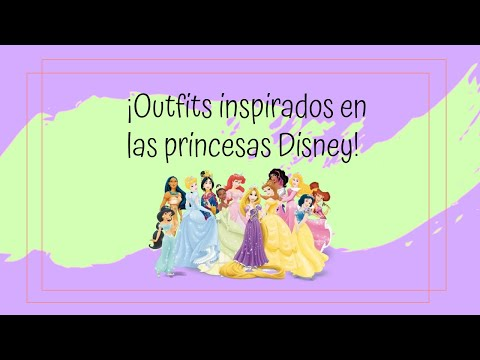 Download ¡Outfits inspirados en las princesas Disney! - Andrea MG