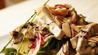 Салат из телятины и овощей