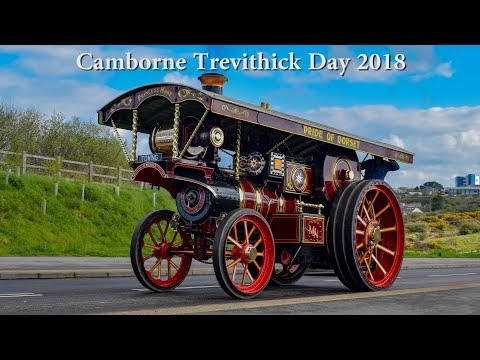 Trevithick Day 2018 (Engines on the road)