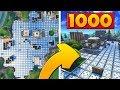 1000 BOUNCE PADS vs TILTED TOWERS | Fortnite Custom Game