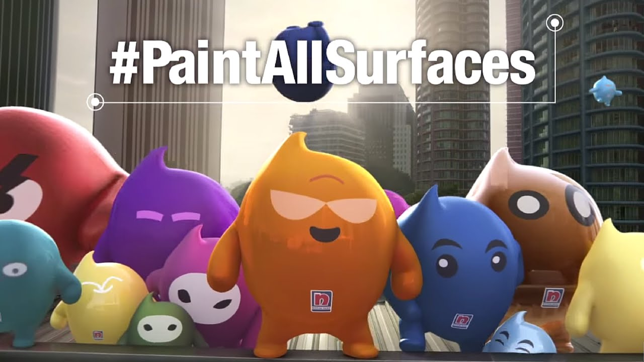 Nippon Paint Blobbies The Unpaintable Challenge