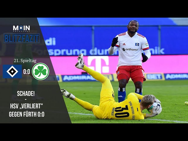 Scholles Blitzfazit zum Spiel | HSV 0:0 Greuther Fürth / Saison 20/21 | #008