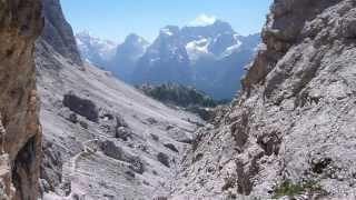 Forcella sopra Col di Varda