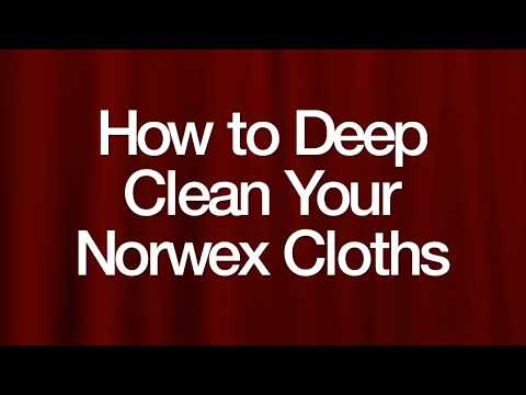Deep Cleaning Your Norwex Cloths