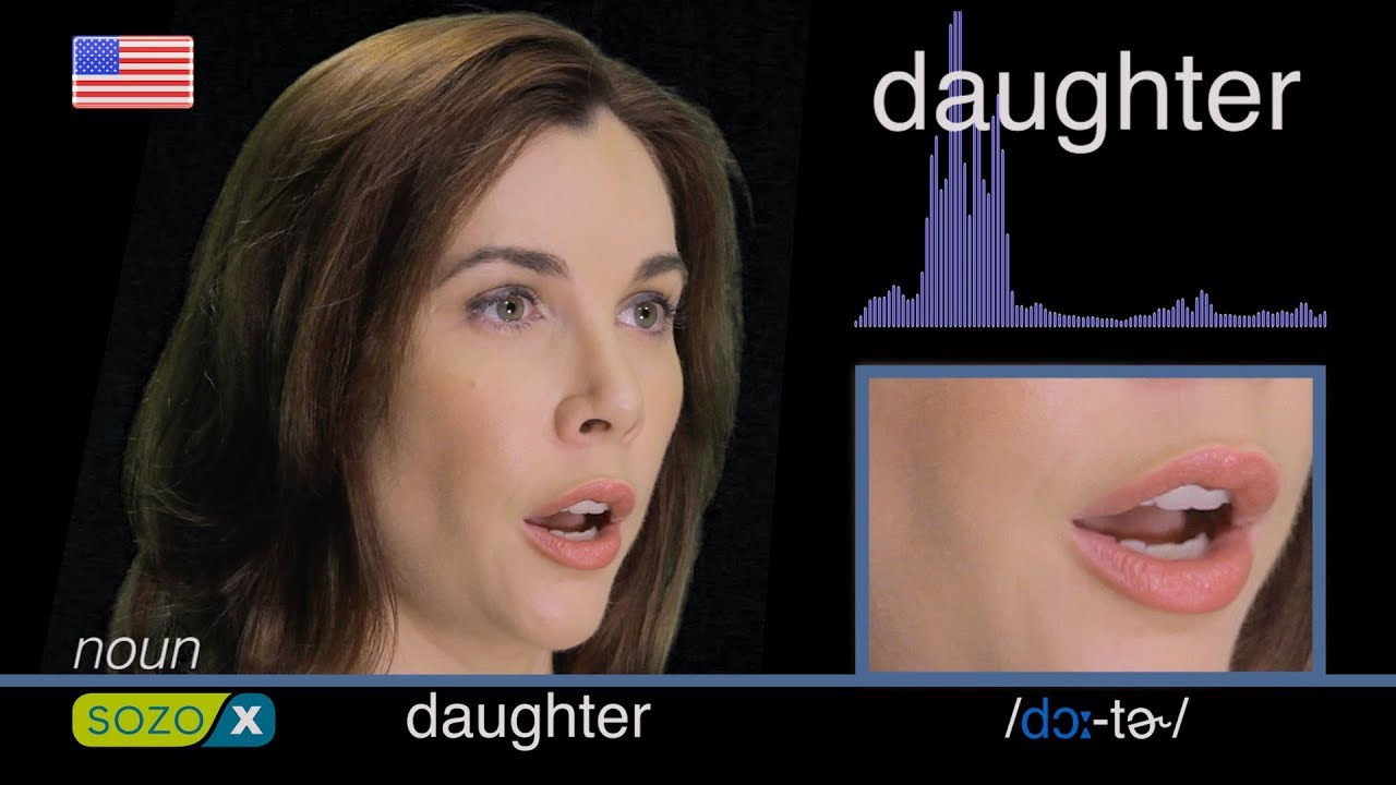 How To Pronounce DAUGHTER like an American English Pronunciation