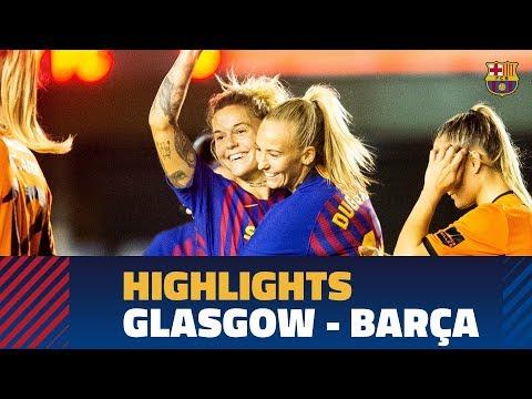 [HIGHLIGHTS] WCL: Glasgow City - FC Barcelona (0-3)