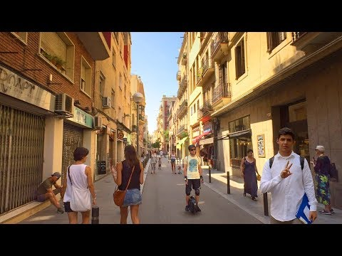 Barcelona, Spain - Gràcia District Walk Tour