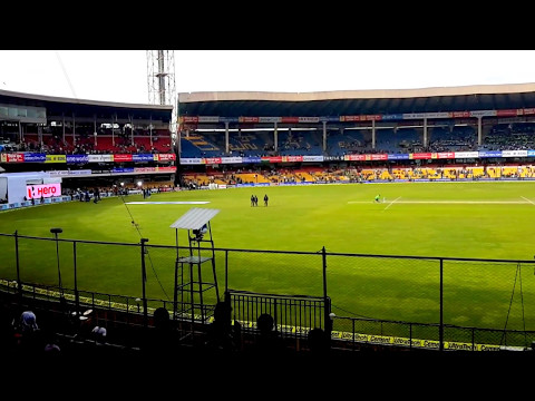 Full view M Chinnaswamy Stadium Bangalore from Stand M