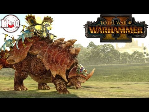 Dino Squad - Total War Warhammer 2 - Online Battle 33